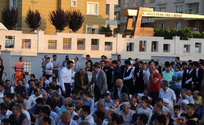 Zeytinburnu'nda Samimi Bayramlaşma
