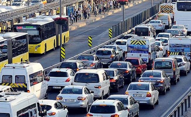 İstanbul'da şaşkına çeviren görüntü