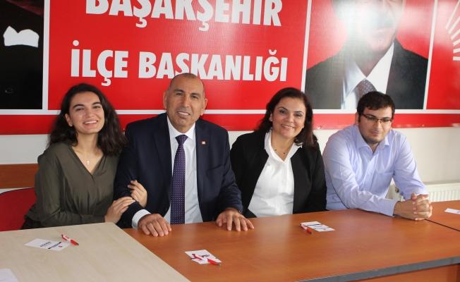 Abdulhadi Akmugan CHP Başakşehir'de ilk adaya dayı oldu