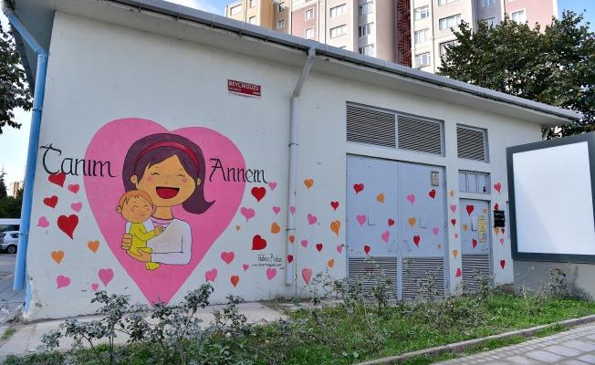 Trafo binaları birer sanat eserine dönüşüyor