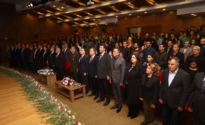 """""""Mustafa Kemal Atatürk, vefatının 80. Yılında özel bir programla anıldı"""""""