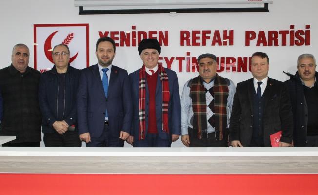 Malatyalılar ve GZP' den Yeniden Refah Partisine Ziyaret