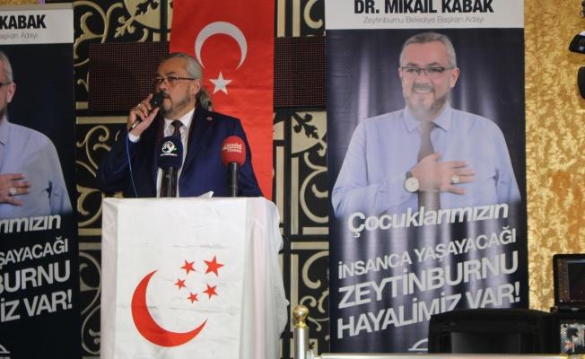 SP. Adayı Dr. Mikail Kabak  çok kararlı