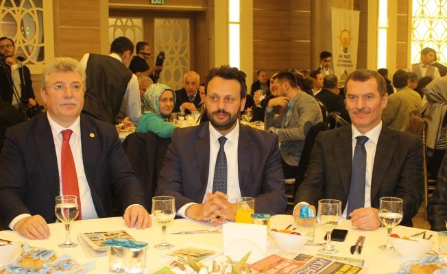 AK PARTİ STK Temsilcileri ile yemekli toplantı yaptı