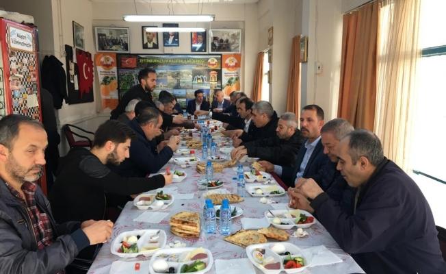Malatyalılar Kongreden sonra Kahlavaltılı toplantı yaptı
