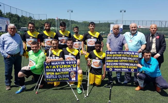 AMPUTE FUTBOLDA İSTANBUL DERBİSİNİ YEDİTEPE 1-0 KAZANDI!