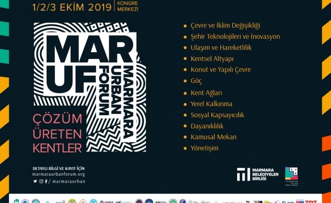 """""""Çözüm Üreten Kentler"""" İstanbul'da Buluşacak"""