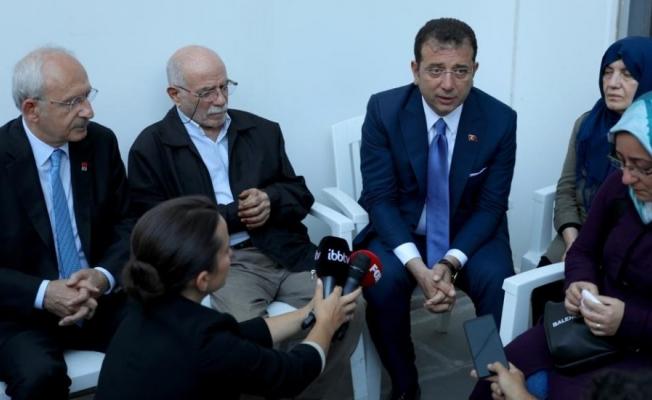 Kılıçdaroğlu Tuzla ve Maltepe 'de