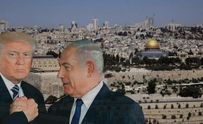 Siyonist Finosu TRUMP Kudüsü İsrail'e verdim dedi