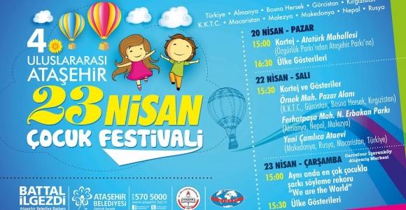 Ataşehir 10 Ülkeden Gelen Çocukları Ağırlayacak 37