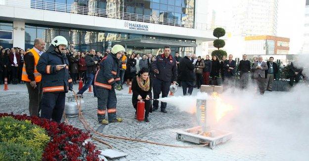 Ataşehir Belediyesi yangın riskine karşı hazırlık yaptı