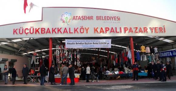 Ataşehir'e konforlu Kapalı Pazar alanı