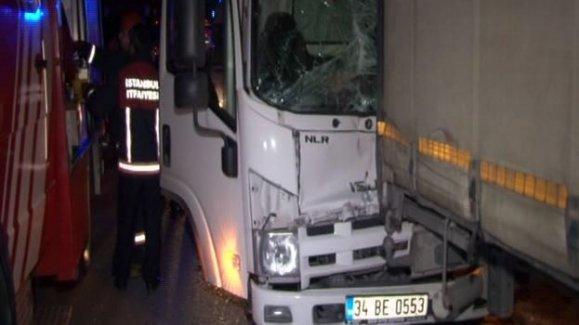 Atatürk Havalimanı'nda korkutan kaza: 2 yaralı