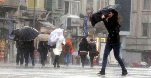 Bakan Veysel Eroğlu'ndan İstanbul için rüzgar ve yağmur uyarısı