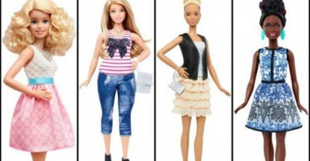 'Balık etli' ve minyon Barbie'ler geliyor!