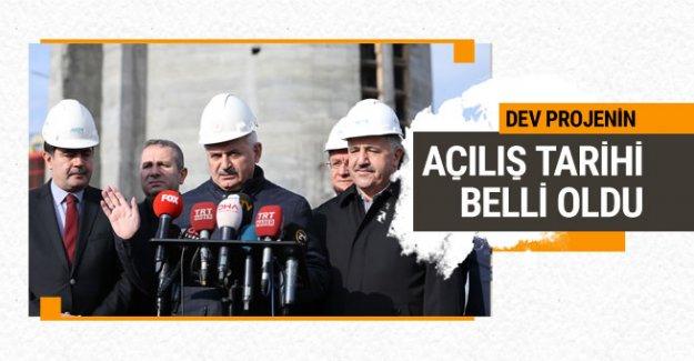 Başbakan, Çamlıca TV Kulesi açılış tarihini açıkladı