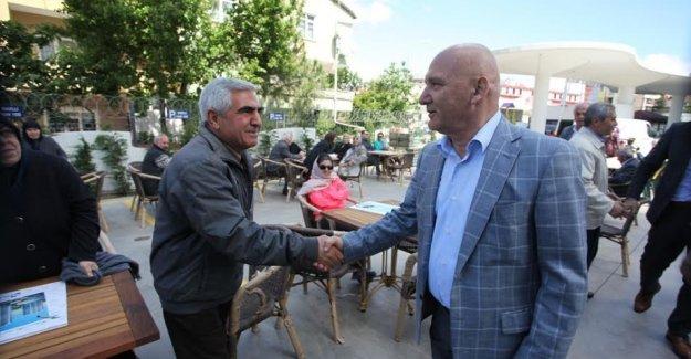 """Başkan Altınok Öz, """"Kartal'ın Belediye Başkanı olmaktan gurur duyuyorum"""""""