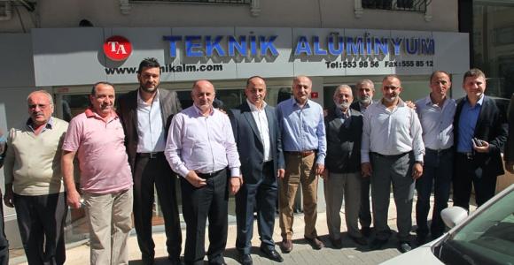 Başkan Karaman'ın Esnaf Ziyareti