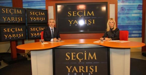 Başkan Kılıç Karadeniz TV'de Kağıthane'yi Anlattı