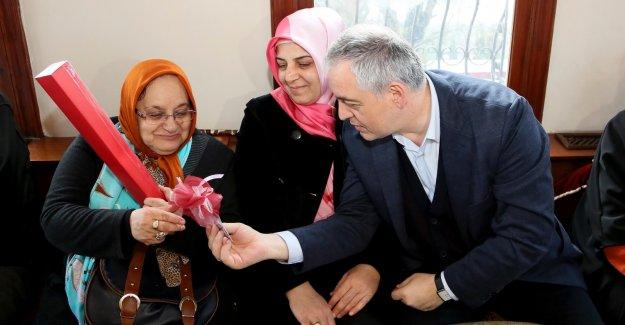 Başkan Remzi Aydın Darülaceze'de