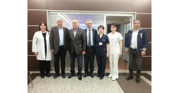 Başkan Toksoy'dan  Avrasya Hospital Küçükköy'e Tam Not