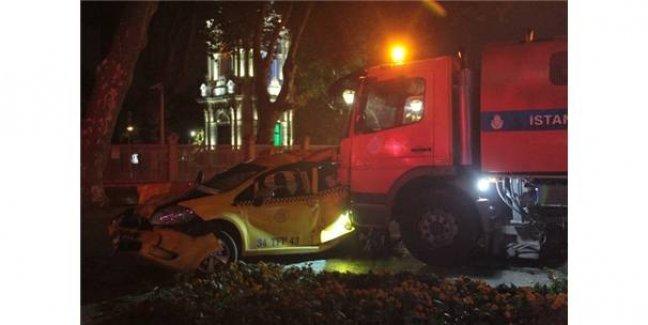 Beşiktaş'ta Kontrolden Çıkan Araç Dehşet Saçtı