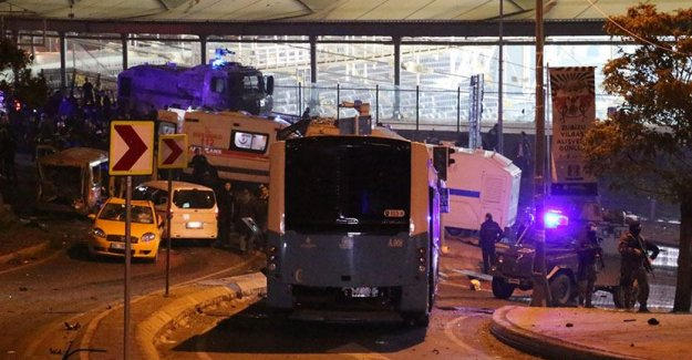Beşiktaş'taki hain saldırıyı düzenleyen 2 teröristin kimliği belirlendi