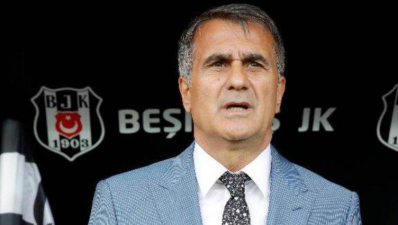 """Beşiktaş Teknik Direktörü Şenol Güneş: """"Sorunları 1 ayda çözeriz"""""""