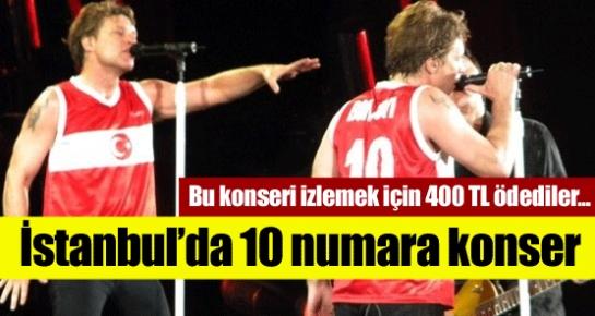 Bon Jovi İstanbul'u salladı !
