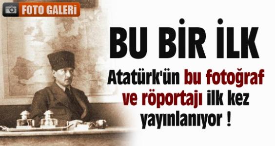 Bu kitap Atatürk'le ilgili BİR İLK !