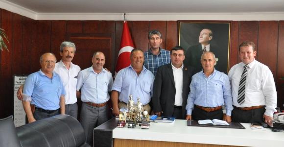 İMDD yönetim Kurulu  belediye ziyaretleri devam ediyor