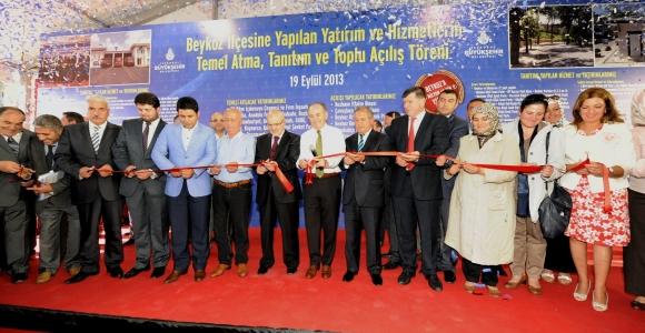 Büyükşehir'den Beykoz'a 1 Milyar TL'lik Yatırım