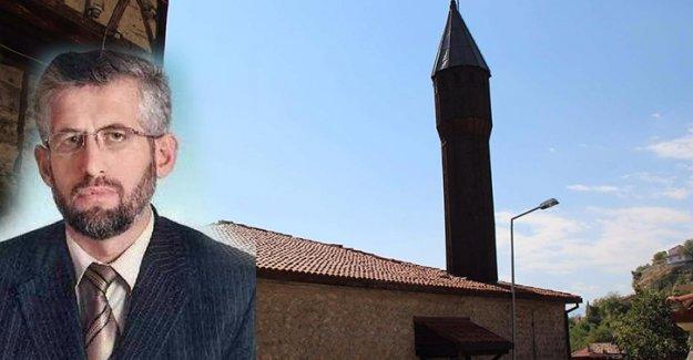 Camiyi kilitleyip izne çıktı