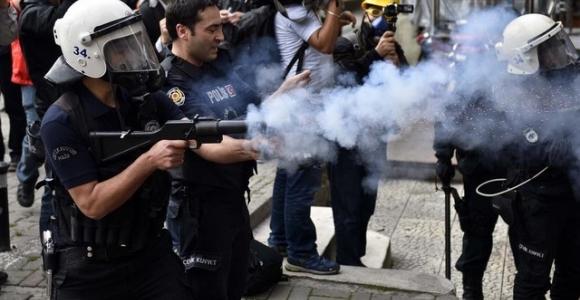 CHP binasına müdahale: 4 gözaltı