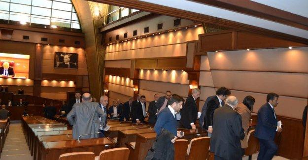 CHP İBB Grubu Meclis Toplantısına Girmedi