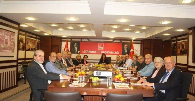 CHP İstanbul İl Çevre Komisyonu Üyeleri İstanbul'u Değerlendirdi!