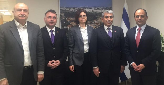 CHP'li Canpolat'tan İsrail Konsolosluğuna Taziye Ziyareti