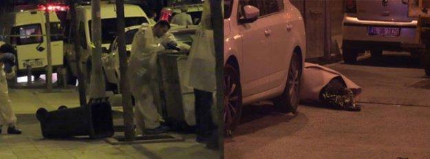 Çöpten halıya sarılı ceset çıktı!