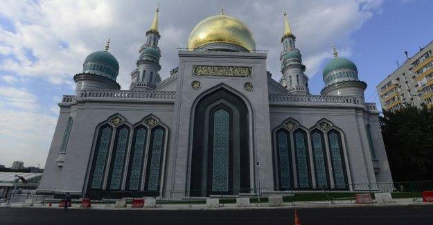 Cumhurbaşkanı Erdoğan, Putin ile birlikte Moskova Merkez Camii'nin açılışını yapıyor