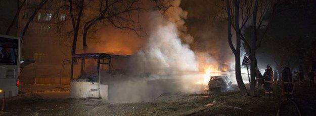 Davutoğlu'ndan patlama açıklaması
