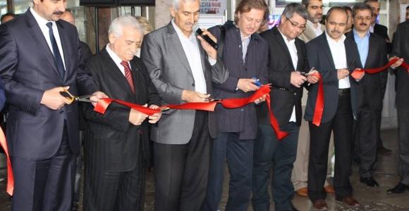 Dergi fuarı tarihi Sirkeci garında açıldı