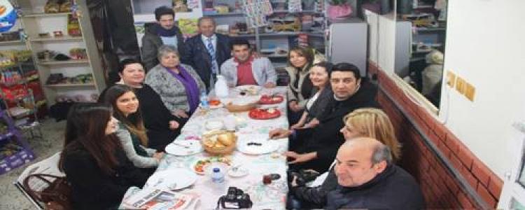 Derya Akkılıç'tan basına kahvaltı