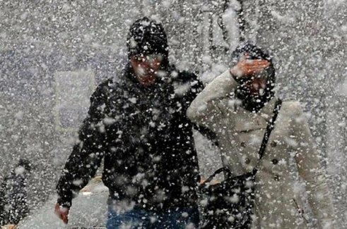 Dikkat! Kar geliyor!