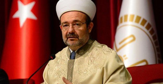 Diyanet İşleri Başkanı Mehmet Görmez: FETÖ toplumdaki 3 açığı kullandı