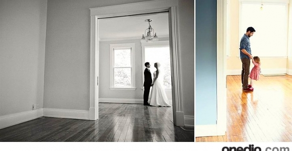 Düğün Fotoğraflarını Kızıyla Tekrar Canlandıran Baba