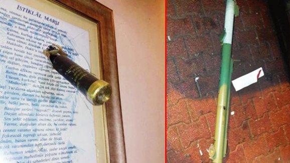 Emniyet Ve Ak Partiye Lav Silahı İle Saldırı
