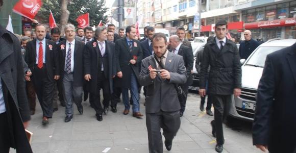 Erbakan 'dan Hayırlıoğlu'na destek