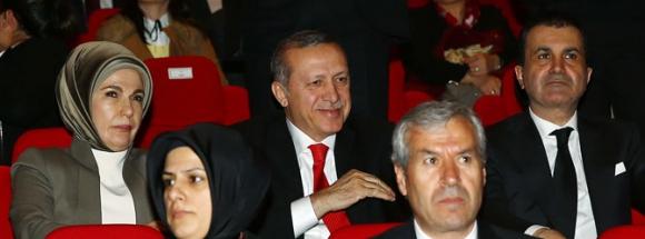 Erdoğan ailesi 'Son Mektup' filmini izledi