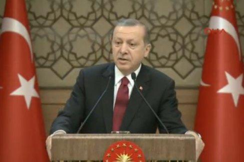 Erdoğan: Başkanlık konusuna Meclis'imizin duyarsız kalamayacağını düşünüyorum