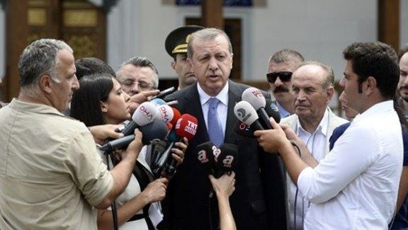 Erdoğan Son Gelişmeler Hakkında Konuştu